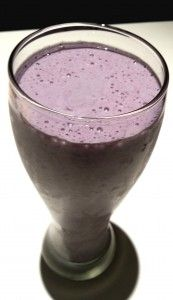 Blueberry Power Smoothie (feat. Oats and LSA)