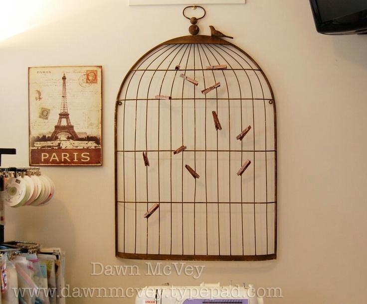 Bird house pic holder!