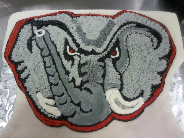 Alabama Cake, hand drawn design