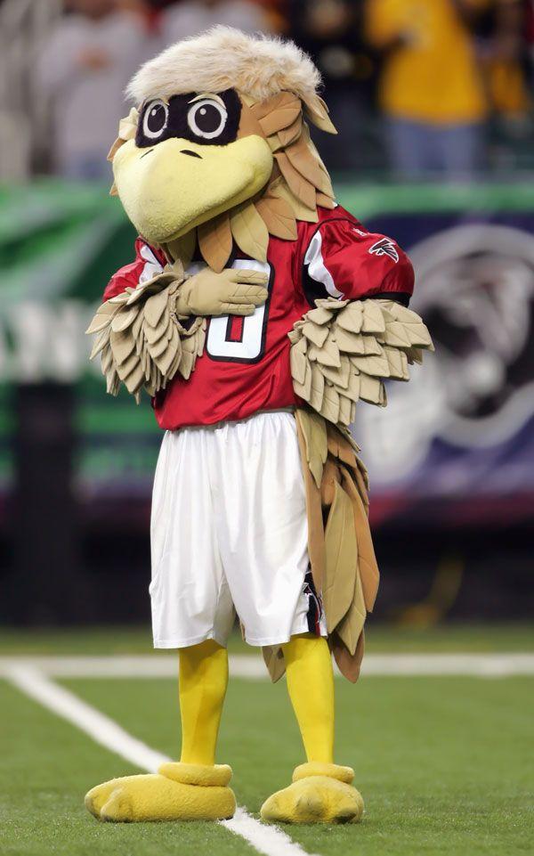 Freddie the Falcon of the Atlanta Falcons