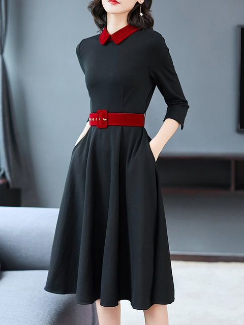 Buy Shirt Dress Midi Dresses For Women from Fantasyou at Stylewe. Online Shoppin…