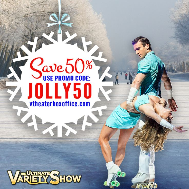Surprise the #kids with the best #stockingstuffer of the season, #tickets to V - The Ultimate Variety Show! Receive 50% off all show tickets purchased between now and December 23, 2015 with #promocode: JOLLY50 at checkout. Get your tickets now at www.VTheaterBoxOffice.com, and #happyholidays from #VtheShow!   -- -- #VegasShows #FamilyFriendly #BestShowsforKids #Vegas #PlanetHollywood #LasVegas #Shows #FamilyActivities #ThingstodoinVegas #WinterSale #DiscountTickets