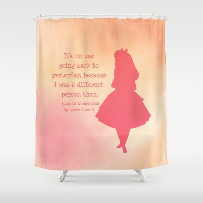 Alice In Wonderland Shower Curtain Stop Neglecting Bathroom Decor