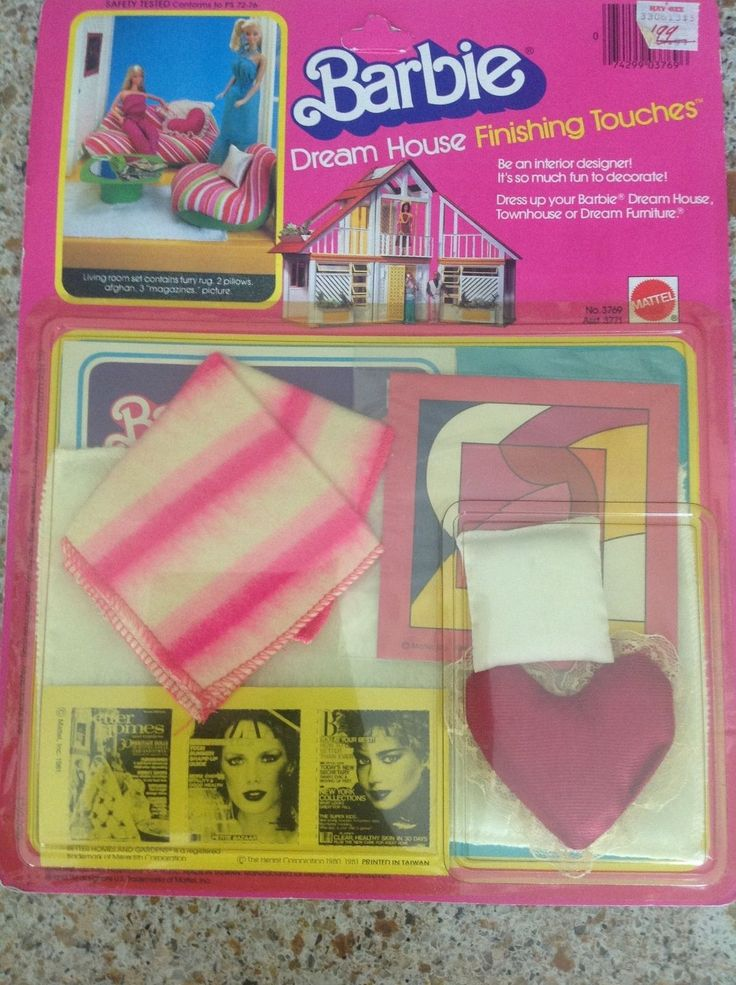 Barbie Dream House Finishing Touches Living Room Set 3769