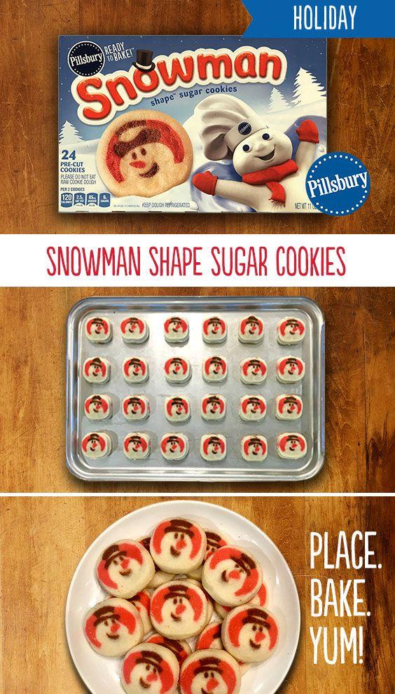 Roll Pillsbury Shape Christmas Tree Sugar Cookies Pillsbury In