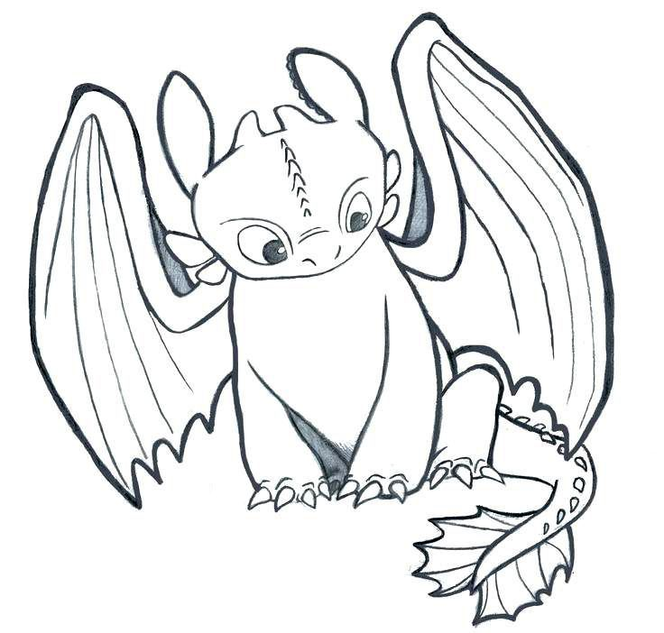 Printable Toothless Coloring Pages Best Coloring Pages For Kids