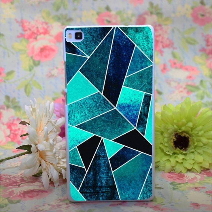 wild ocean Design White Hard Case Cover for Huawei Ascend P6 P7 P8 P8 lite