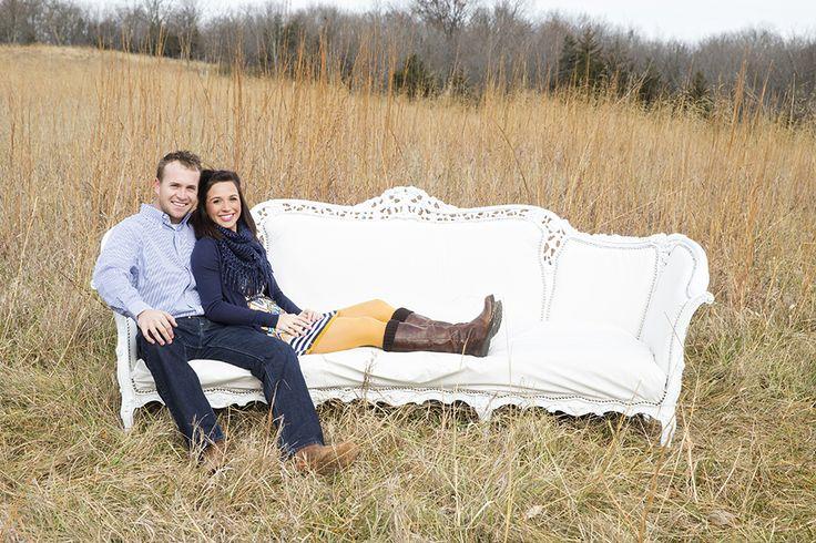 "Quandt Family, ""White Couch Mini Session"", Shawnee Mission Park, Shawnee Mission KS, Family Photography | The Mullikin Studio"