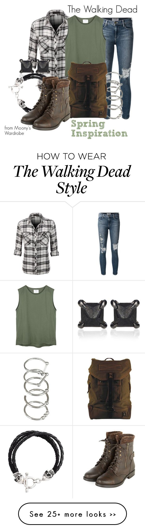 """""""The Walking Dead: Spring"""" by evalupin on Polyvore"""