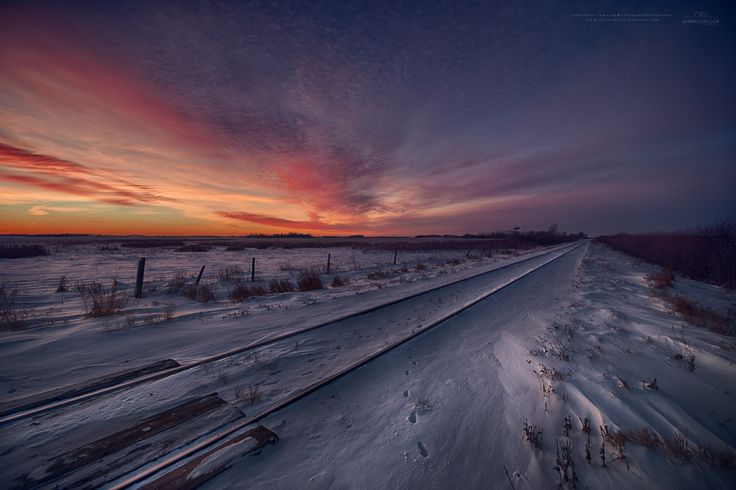 Winter Rails 807814 -by Ian McGregor on 500px