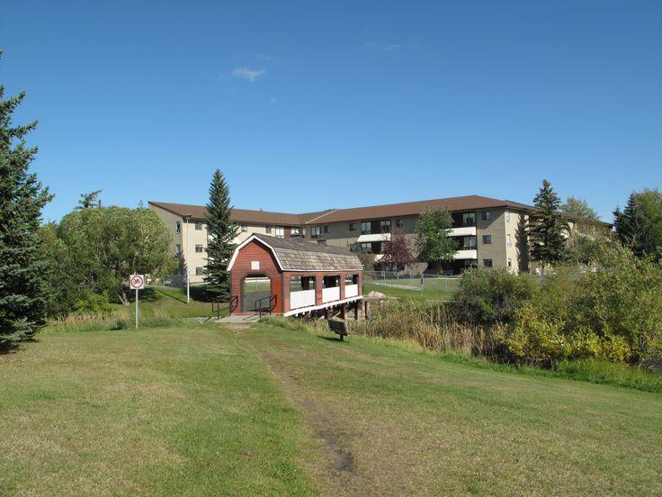 Covered bridge Sherwood Park Alberta