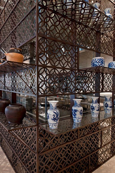 In the crafting of an authentic Vietnamese-Chinese dining experience, this restaurant and lounge in the Intercontinental Asiana Hotel Saigon makes design references to archetypal elements of Vietnamese urban spaces such as  its narrow street...