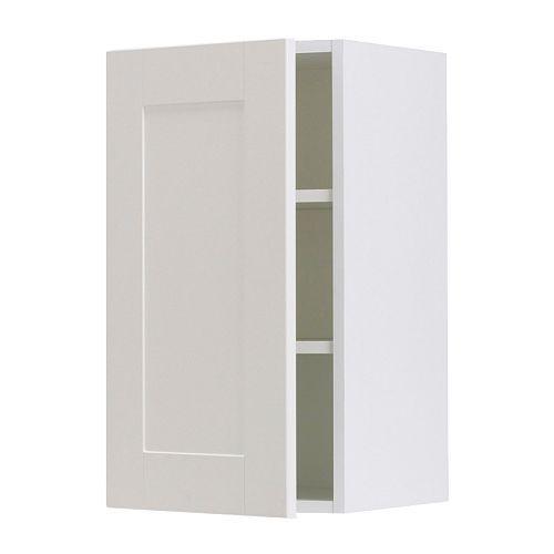 FAKTUM Wall cabinet - Ädel off-white, 50x70 cm - IKEA