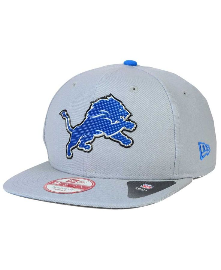 New Era Detroit Lions Draft Redux 9FIFTY Snapback Cap