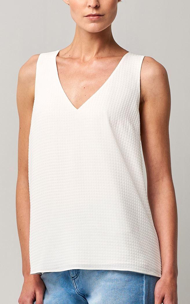 sleeveless dobby top 000110-white   1