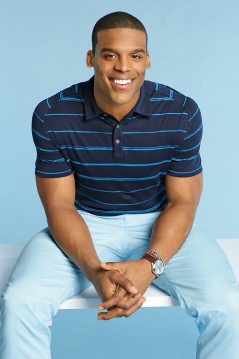 Cam Newton those biceps though #hubby #right #mygoodness