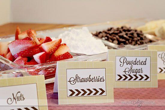 waffle bar printables