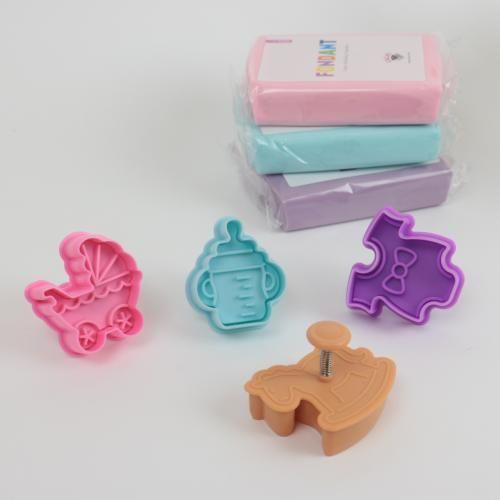Utstickare med babymotiv 4 delar 1 HemmetsHjarta