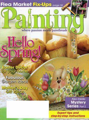 Painting..Hello Spring - Barbara Ramirez - Picasa Web Albums...FREE MAGAZINE!!