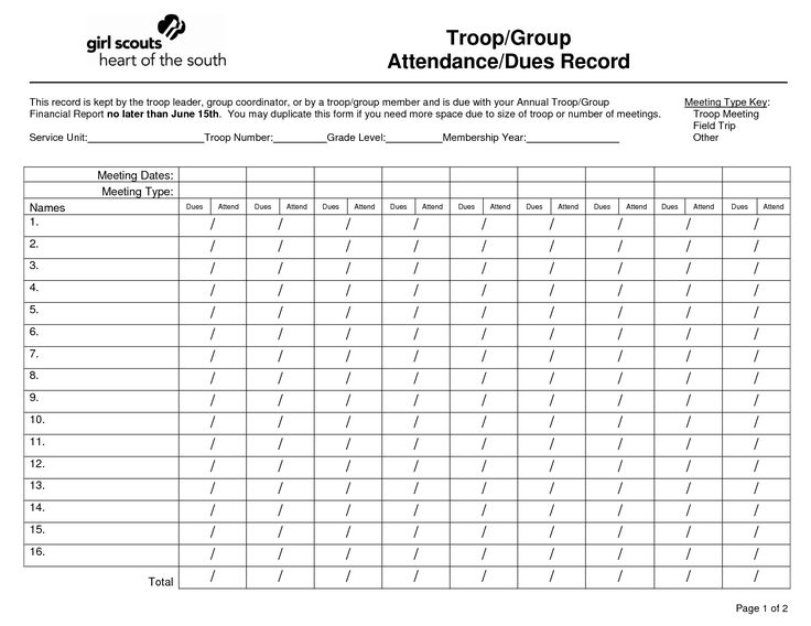 Scout dues form google search girl scout activities for Girl scout order form template