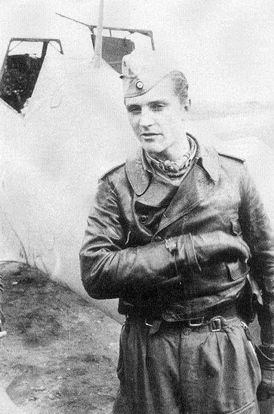 Luftwaffe ace Hans Joachim Marseille.