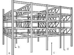 Retail Mart also Metal Beam Connections together with L0110 likewise 37365871879670722 besides About. on web truss buildings