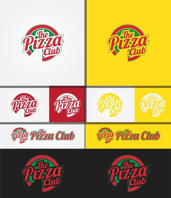 photo creer un logo gratuit pizza