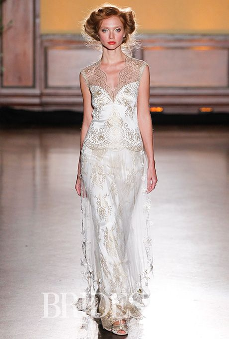 The 25 best claire pettibone wedding dresses ideas on pinterest brides claire pettibone fall 2016 wedding dress by claire pettibonephoto gerardo junglespirit Image collections