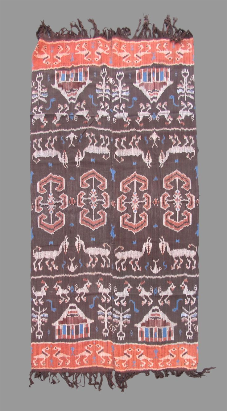 Ikat Ikat 20th C. (2nd Q) Indonesia