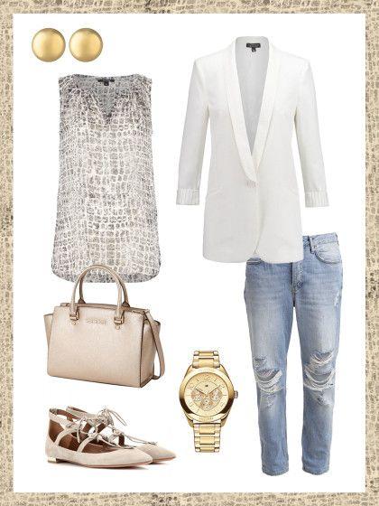 Business-Look mit Longblazer – dein Büro-Outfit für morgen! | STYLIGHT