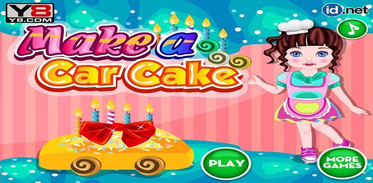 Dziewczyna szykuje tort dla swojego taty. Właśnie dlatego zamierza przygotować ciasto, które będzie kształtem przypominać samochód! http://www.ubieranki.eu/gry/3839/tort-w-ksztalcie-samochodu.html