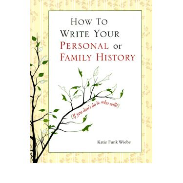 writing your family history preparation for the first draft