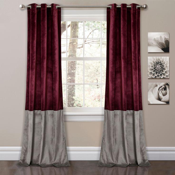 Best 25 Color Block Curtains Ideas On Pinterest Custom