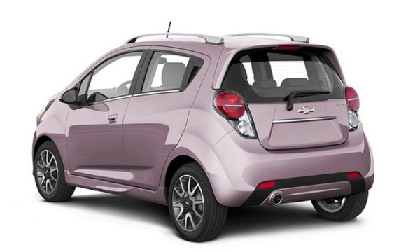 Chevy Spark 2013-in Techno Pink-The color I really wanted.