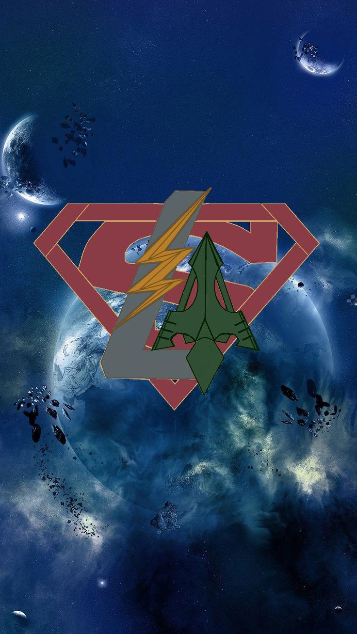 Arrowverse logo v.2 Supergirl tv, Supergirl and flash