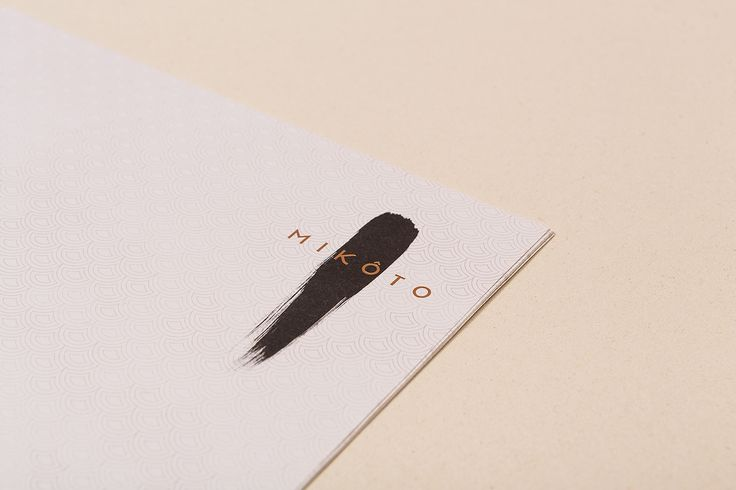 "MIKÔTO Japanese Cuisine by ADDA Studio""Our aim was to capture the soul of the customer in design.This meant creating an authentic Japanese branding concept that is both modern and traditional as the cuisine from Mikoto."" ADDA Studio is a design agency for analog and digital media with its headquarters in Stuttgart, Germany. In their work, they are focused on corporate identity and design, digital media, moving image and interior design."