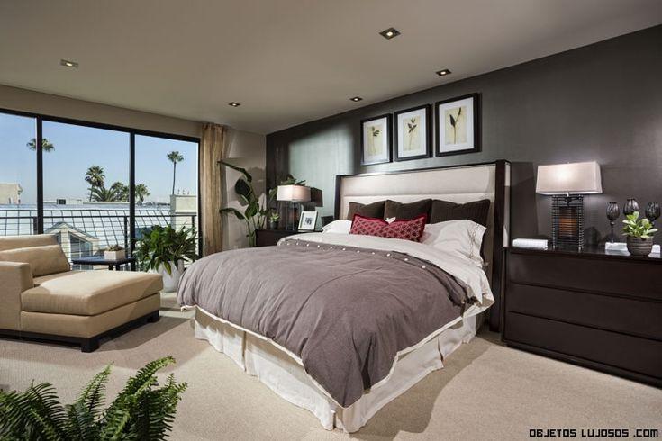 17 best ideas about artwork above bed on pinterest grey - Fotos de habitaciones de lujo ...