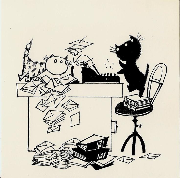 Pim & Pom, naughty cartoon cats of Holland