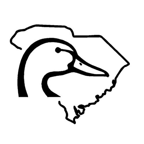 6 Inch South Carolina Ducks Unlimited Decal Sticker