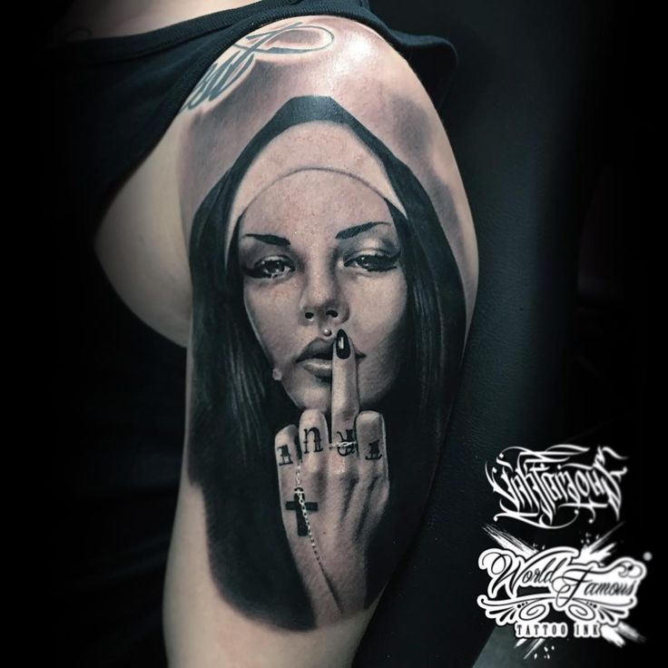 Nun Tattoo # Ver 5