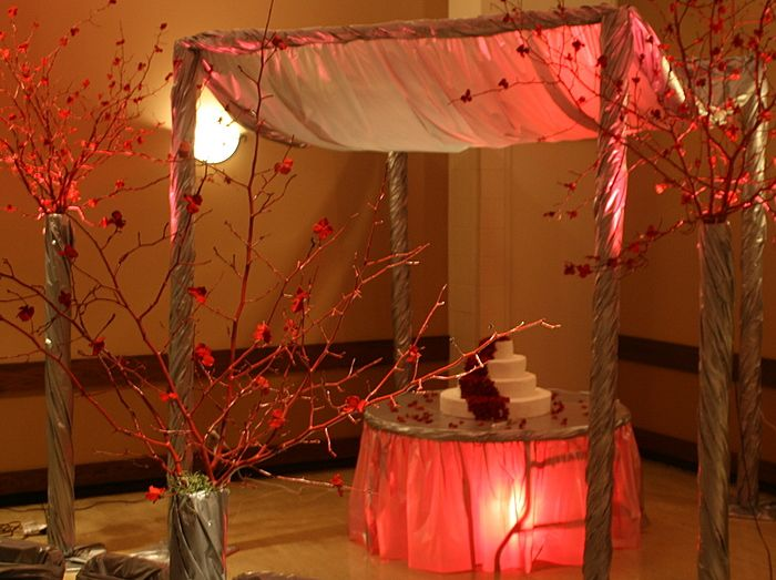 17 best images about wedding decorations ideas on for Cheap wedding venue decoration ideas