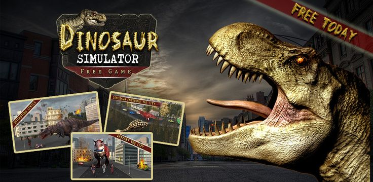 #DinosaurSimulatorFreeGame is here for you Smash the city and be the #massivedinosaur and roam around the extreme locations. Race against a car, smash into a moving vehicle. Have a fun of tilting and smashing the world with lot of noise. #Dinosaurgames are always fun and this one will make you go crazy. Get yourself ready for the #thrillingexperience. #Install this #3d #DinosaurSimulator and you will love this one. https://goo.gl/iro8d1