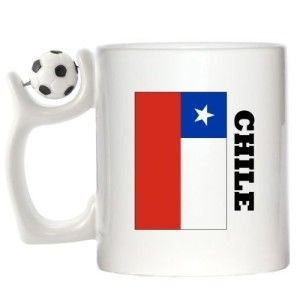 Chile FLAG Design Spinning Football Mug @ http://www.world-cup-products-worldwide.com/chile-flag-design-spinning-football-mug/