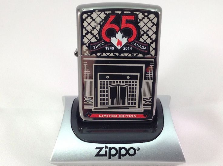 """ZIPPO CANADA 65TH ANNIVERSARY ZIPPO LIMITED EDITION  Free Shipping USA Seller"""" FOR SALE • EUR 40,03 • See Photos! Money Back Guarantee. ZIPPO CANADA 65TH ANNIVERSARY ZIPPO LIMITED EDITION Free Shipping USA Seller THESE ARE IN STOCK READY TO SHIP. Here is a MINT IN BOX ZIPPO LIMITED EDITION OF ONLY 5,000 263062207464"""