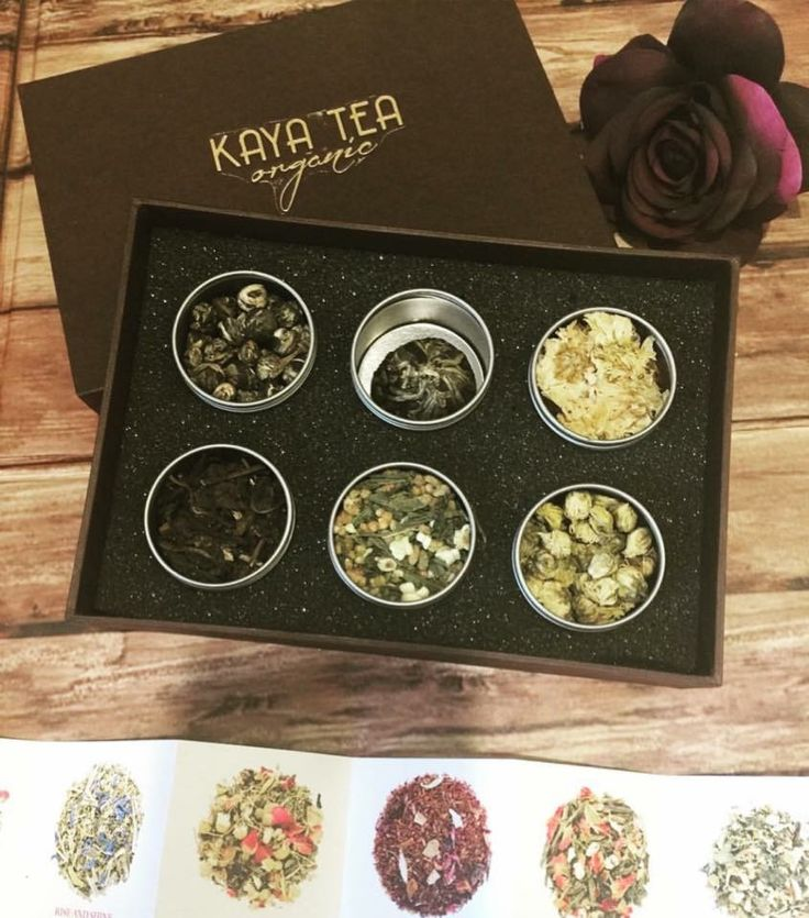 Oriental tea collection by kaya tea organic