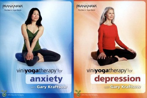 Viniyoga Therapy for Anxiety/Viniyoga Therapy for Depression [2 Discs] [DVD]