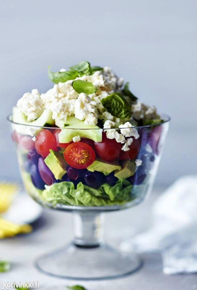 Näyttävä kerrossalaatti | Kotivinkki