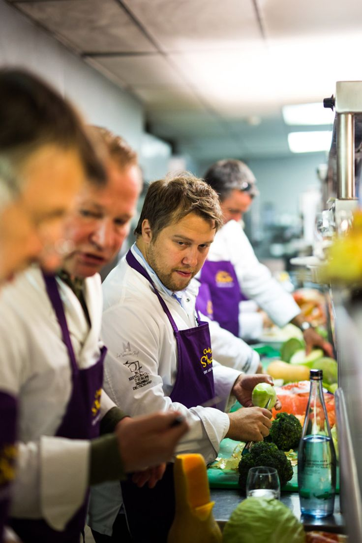 The international star chefs of the event volunteered their talent towards the Veggie Box Initiatives under the 'Chefs who share – the ART of giving' umbrella, transforming the ingredients of each Veggie Box into mouthwatering meals.
