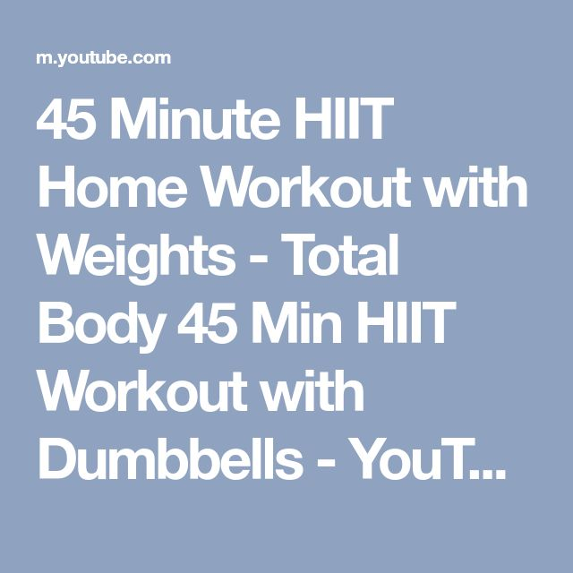 The 25 best hiit app ideas on pinterest workouts hiit hitt 45 minute hiit home workout with weights total body 45 min hiit workout with dumbbells fandeluxe Images
