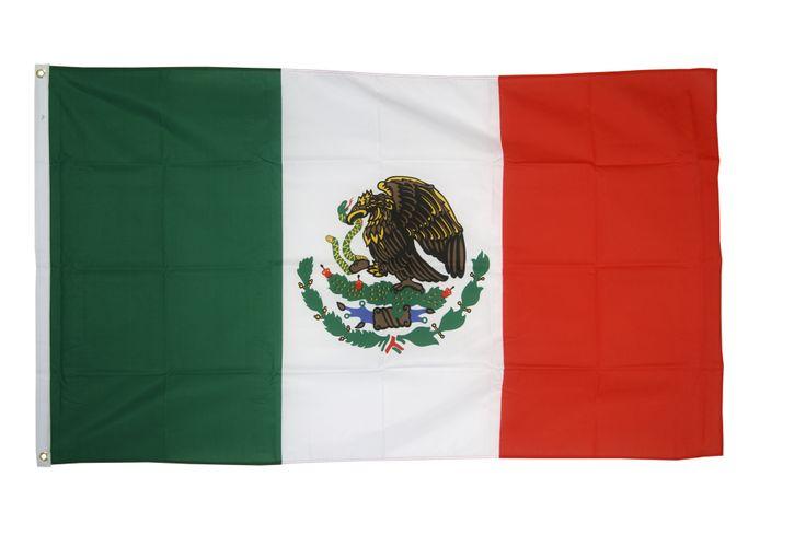 Drapeau Mexique - 90 x 150 cm - maison-des-drapeaux.com